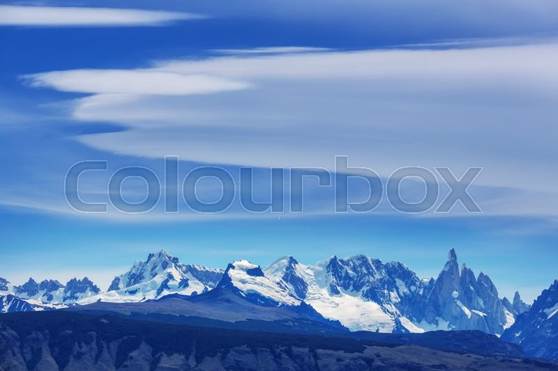 Stock image of 'Cerro Torre in Argentina'