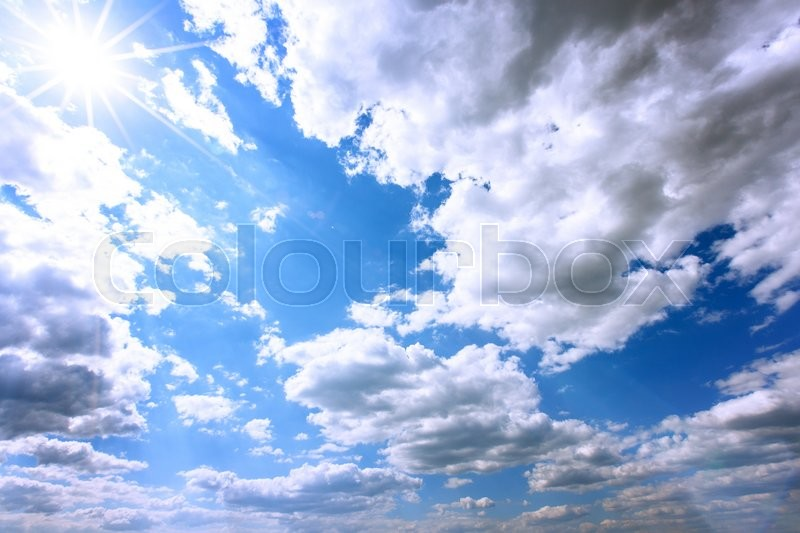 Stock image of 'sky clouds nature landscape background'