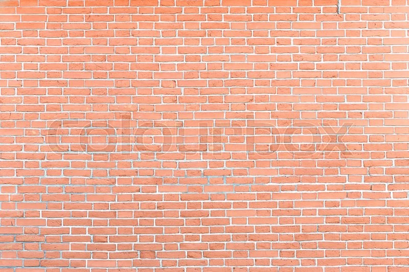Stock image of 'red brick wall background texture'