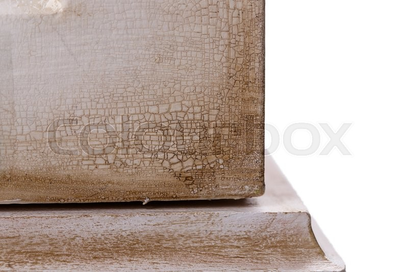 Stock image of 'white Vintage old wardrobe texture '