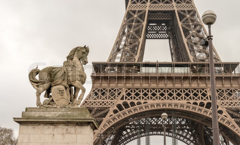 Stock image of 'Landmarks of Paris, France.'