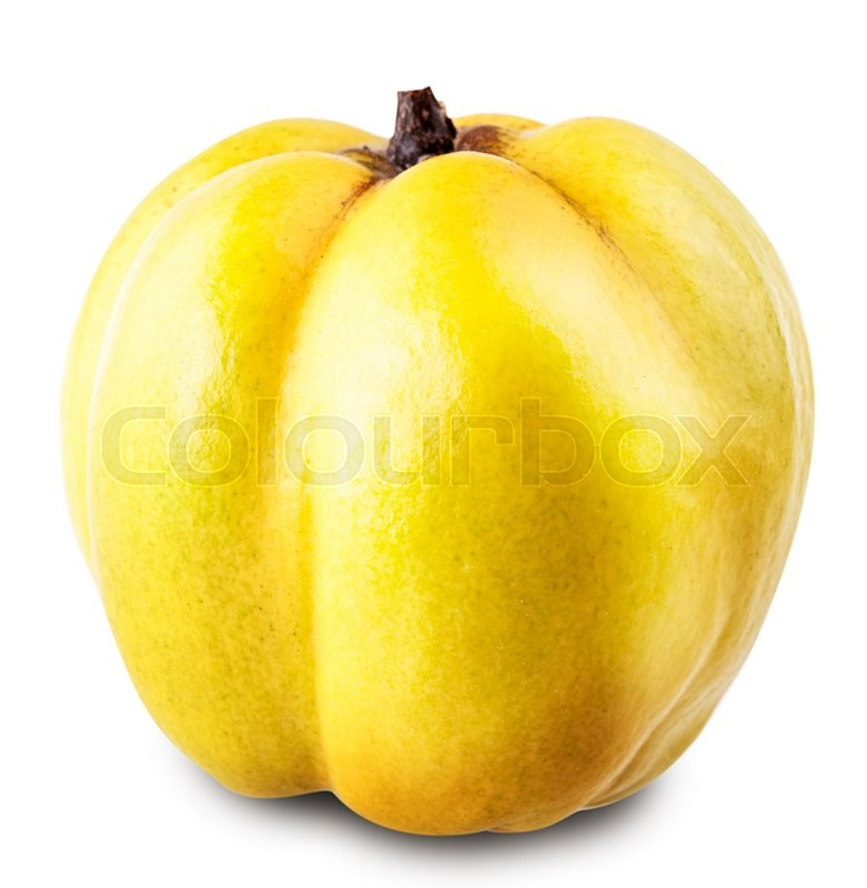 Stock image of 'apple quince Isolated on white background Clipping Path'