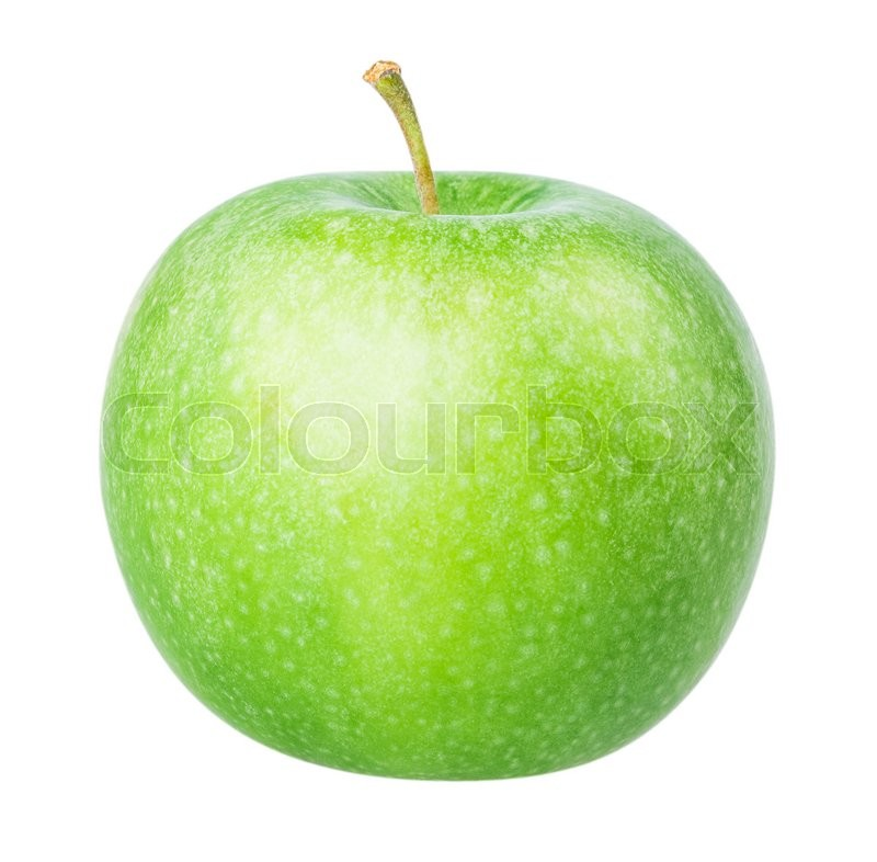 Stock image of 'green apple Isolated on white background Clipping Path'