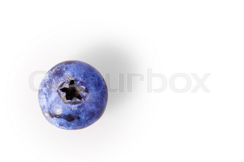 Stock image of 'blueberry berry Isolated on white background'