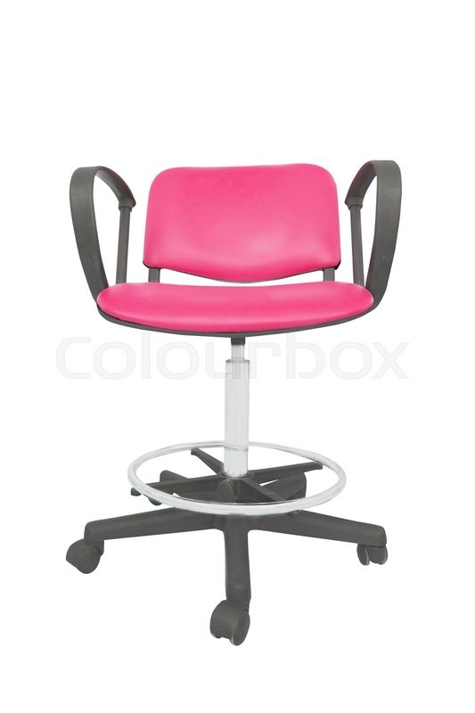 Stock image of 'Blue chair isolated on a white background'