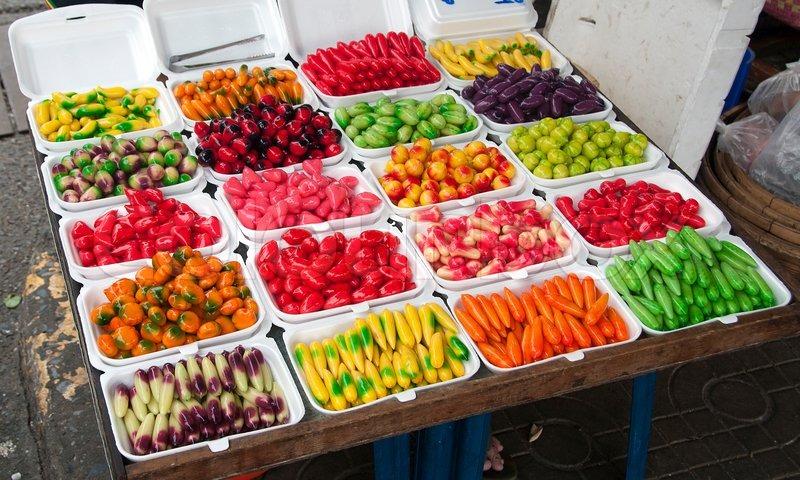 Sweet Food On Thailnd Market Stock Photo Colourbox