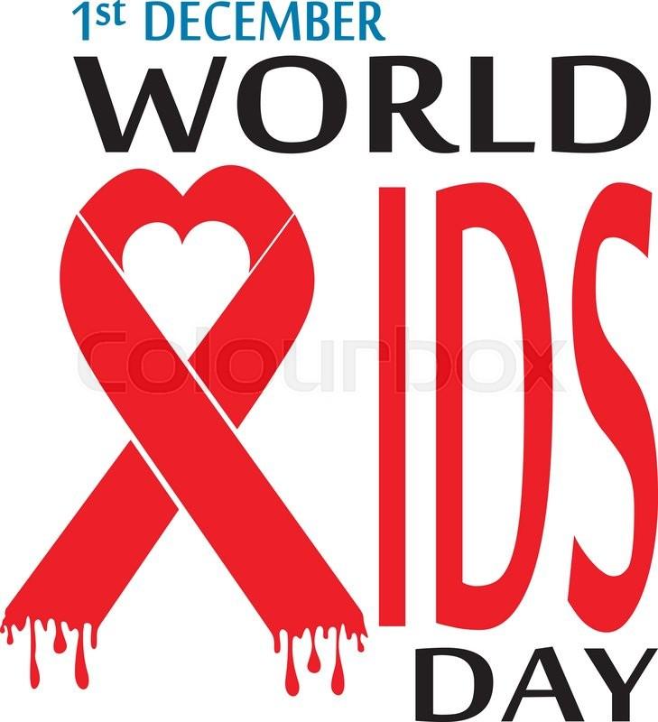 World Aids Day Vector Illustration Symbol Stock Vector Colourbox