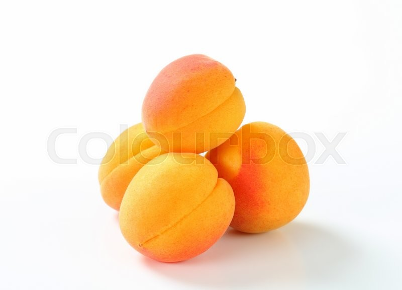 Stock image of 'Fresh apricots '