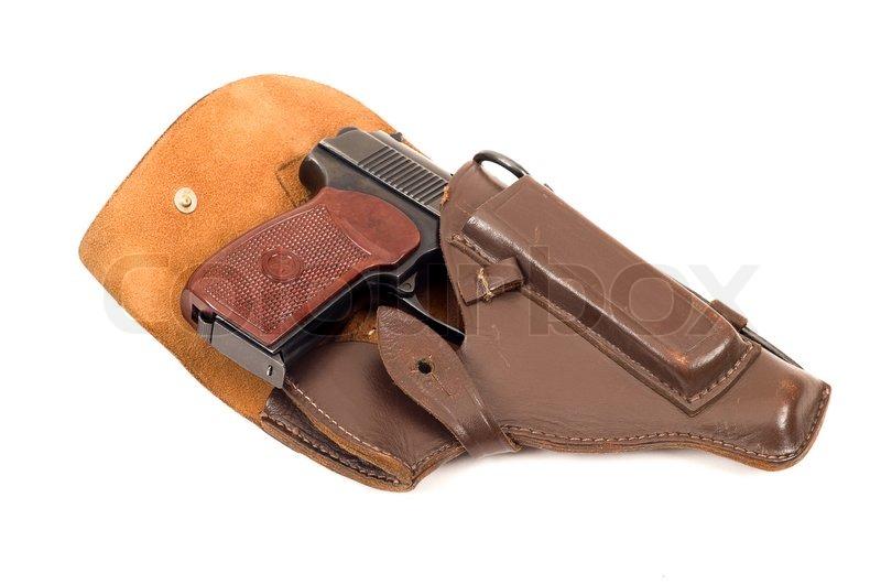 Próximo lanzamiento: Tokarev TT-33. 1751515-561479-handgun-in-holster-isolated-on-the-white-background