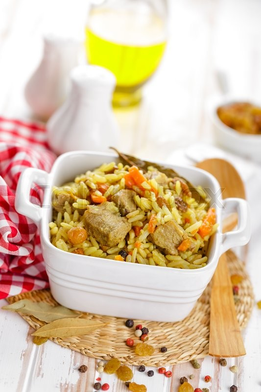 Stock image of 'Pilaf'