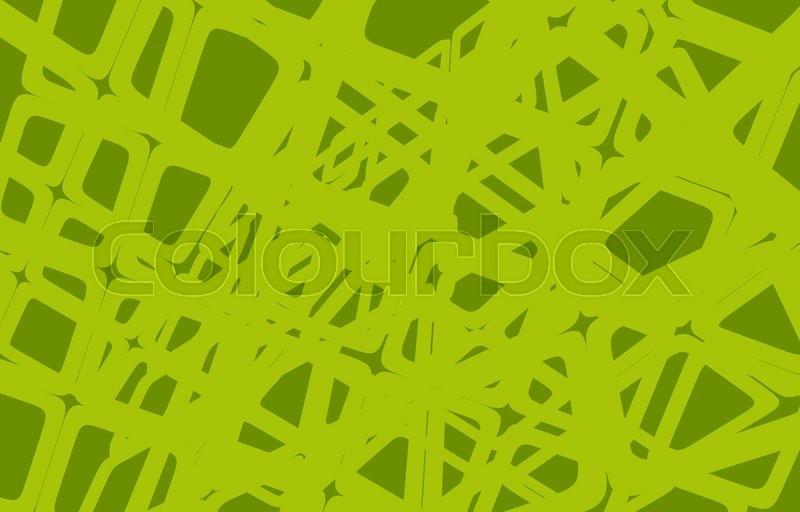 Stock image of 'Abstract Green Background Illustration. Abstract Mesh Shapes Backdrop'