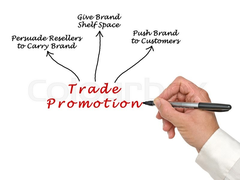 Stock image of 'Diagram of Trade Promotion'