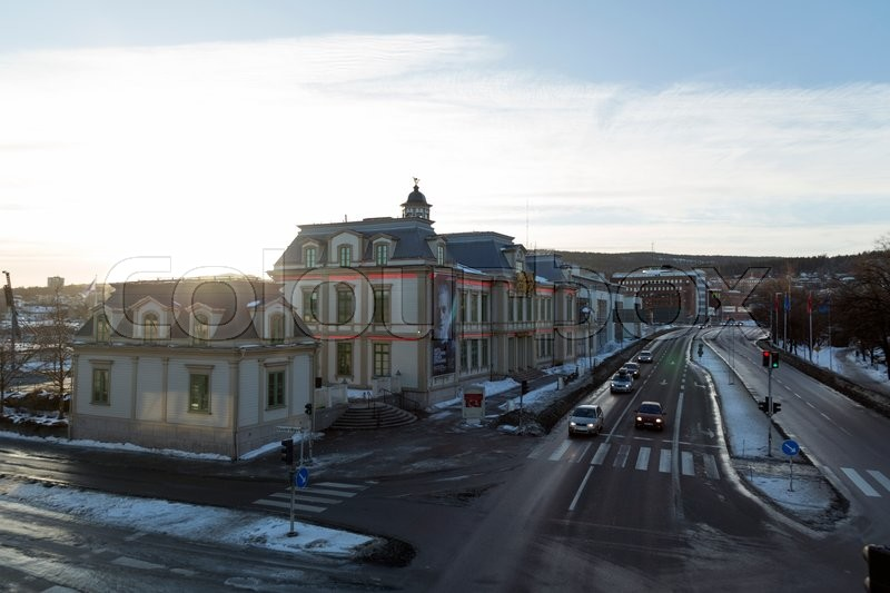Editorial image of 'The casino Cosmopol in Sundsvall'