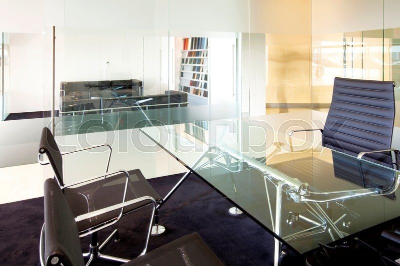 Stock image of 'Meeting room in a modern company - interior'