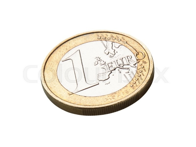 Stock image of 'Euro coin'