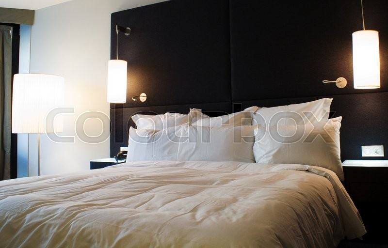 Stock image of 'Bedroom'
