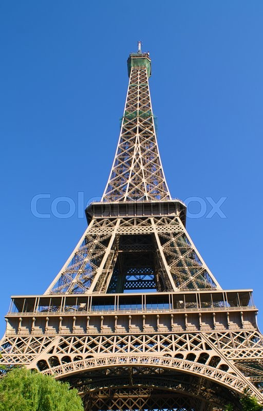 Stock image of 'Eiffel tower'