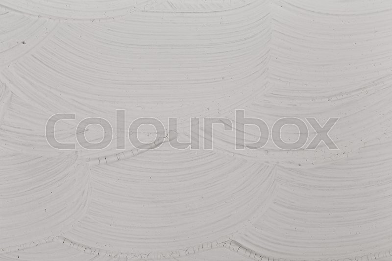 Stock image of 'Gray Brushed white canvas or wall texture background'