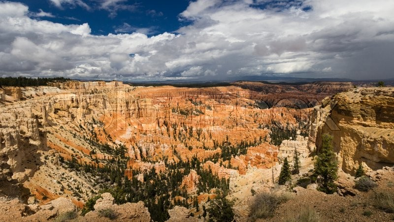 Stock image of 'Inspiration Point In Bryce Canyon National Park, Utah, United States'