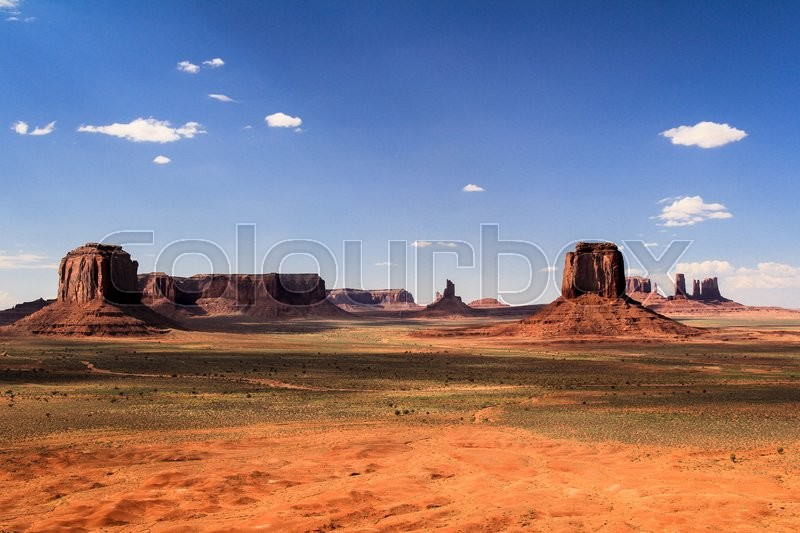 Stock image of 'Monument Valley, Navajo Tribal Park, United States'