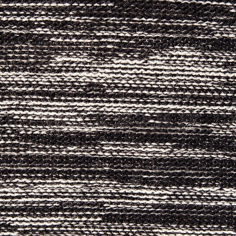 Stock image of 'Black and white textile sweater texture background'