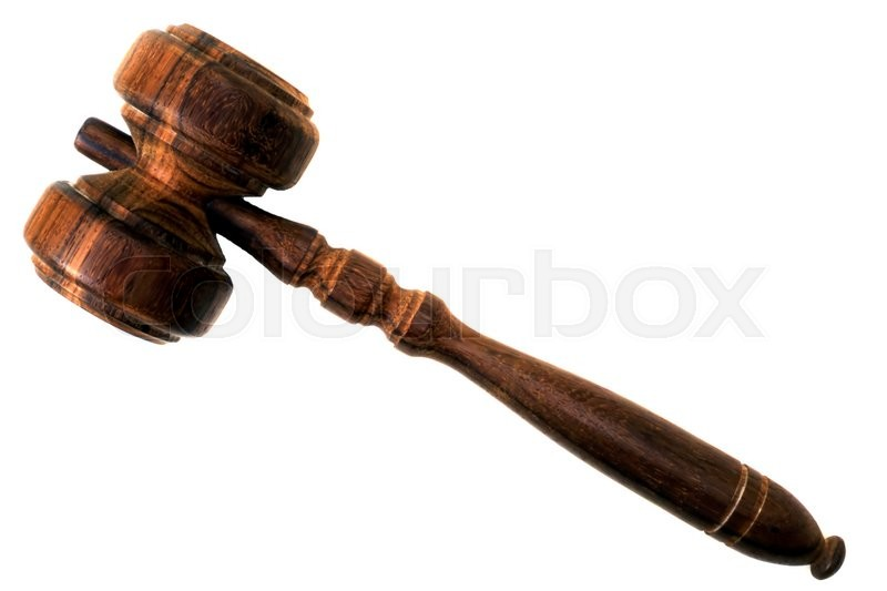 Stock image of 'Gavel'