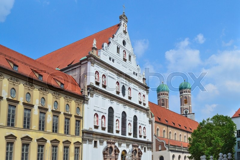 Stock image of 'Munich, Germany. The architecture of the Old Town'