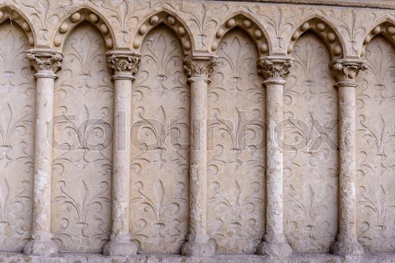 Barilefy And Architectural Elements ArchesCathedral Notre Dame De Paris