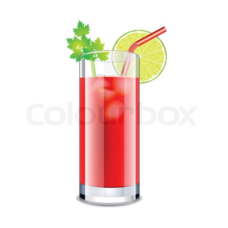 bloody mary drink clipart - photo #6