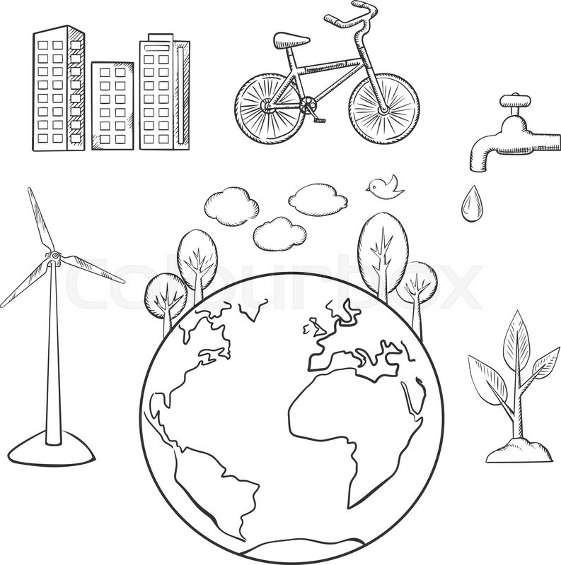 plant ecology coloring coloring pages