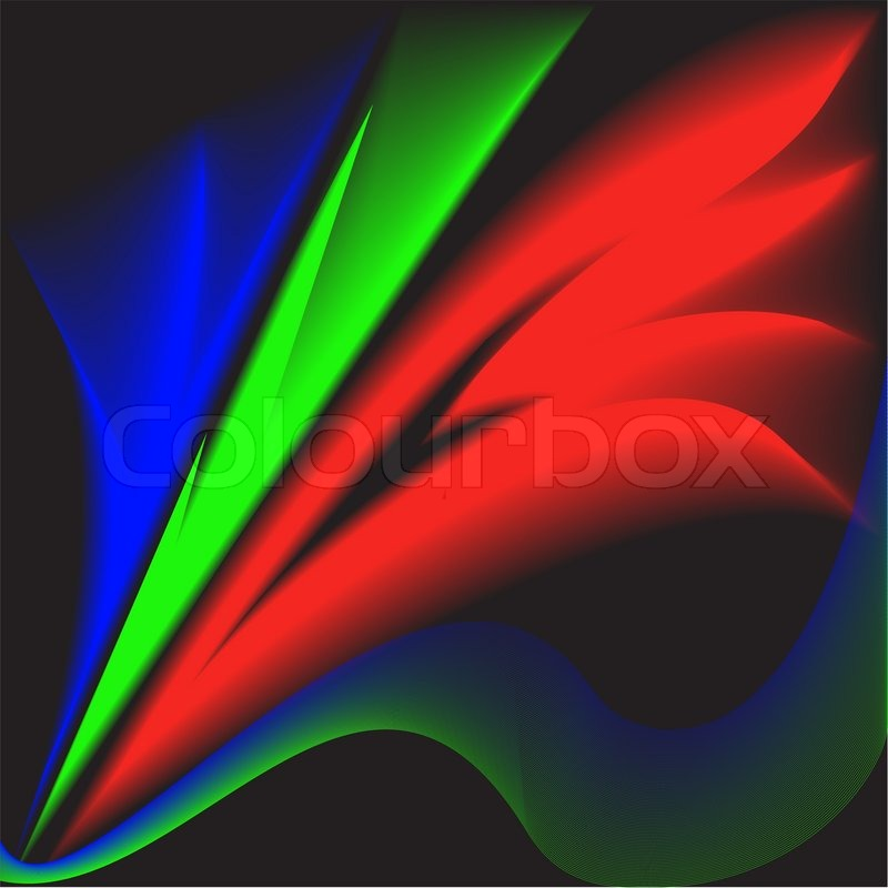 Fuzzy Black Background : Fuzzy multi colored feathers on a black background stock