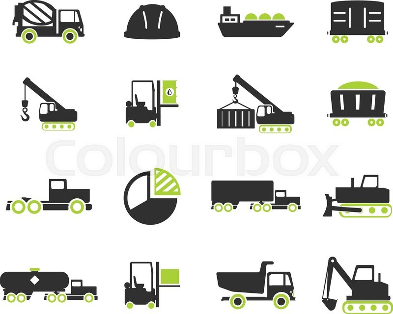 Industrial Simply Symbol For Web Icons And User Interface Stock