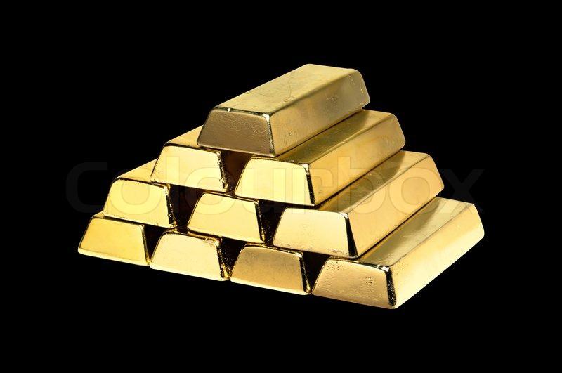 gold bar black background -#main