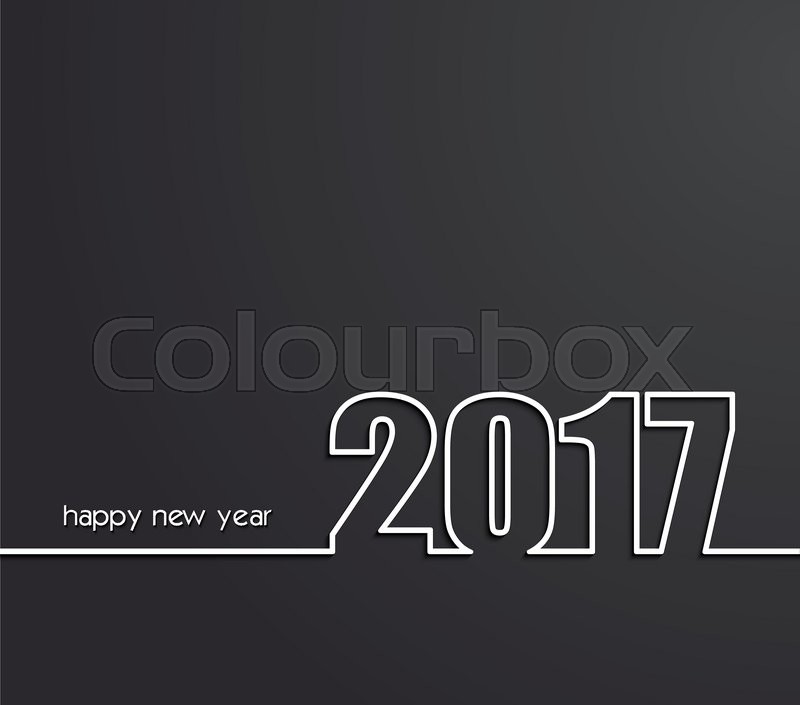 2017 new years cards