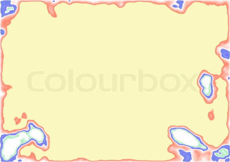 a blank stamp template with space for text or photo stock photo