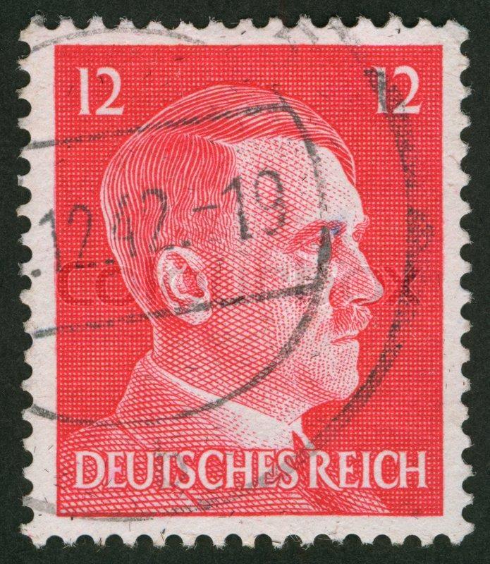 Deutschland Circa 1941 Gebrauchte Stockfoto Colourbox