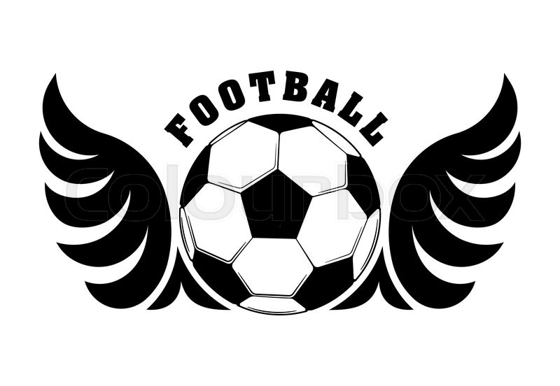 football design with black and white stock vector