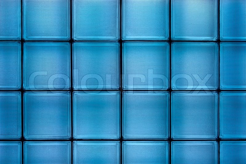Clean blue transparent textured square     | Stock image | Colourbox
