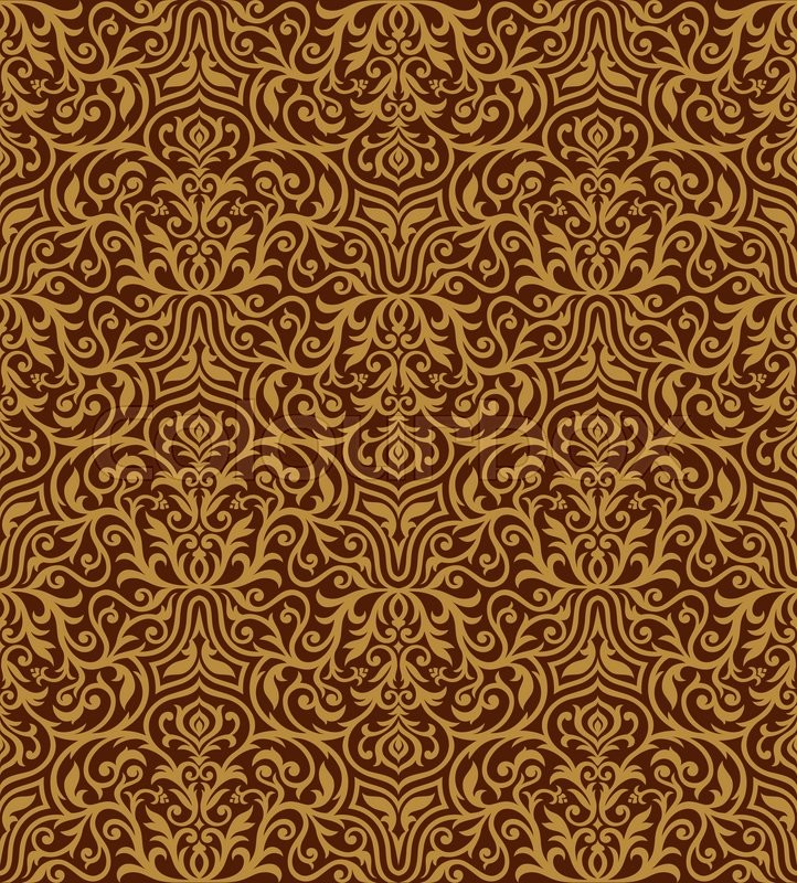 17592191 vintage royal background creative rich style ornaments drawn ornamental seamless pattern decorative vector wallpaper fashion fabric and wrapping paper with swirling elements for design