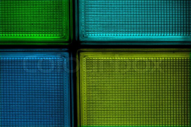 colored transparent textured square glass tiles stock. Black Bedroom Furniture Sets. Home Design Ideas