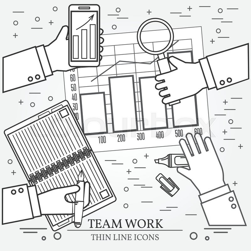 Concepts For Business Analysis And Planning Consulting Team Work