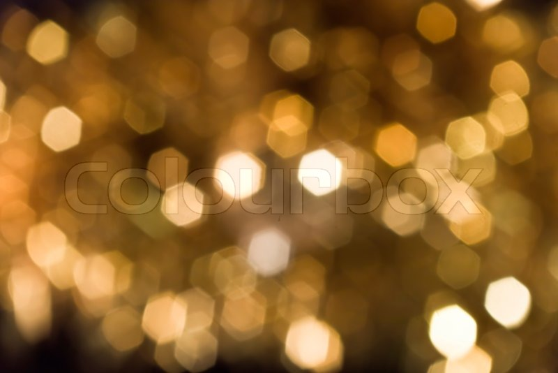 30 Light Effect Wallpapers To Liven Up Your Desktop: Abstract Background Of Blurry Golden Lights.