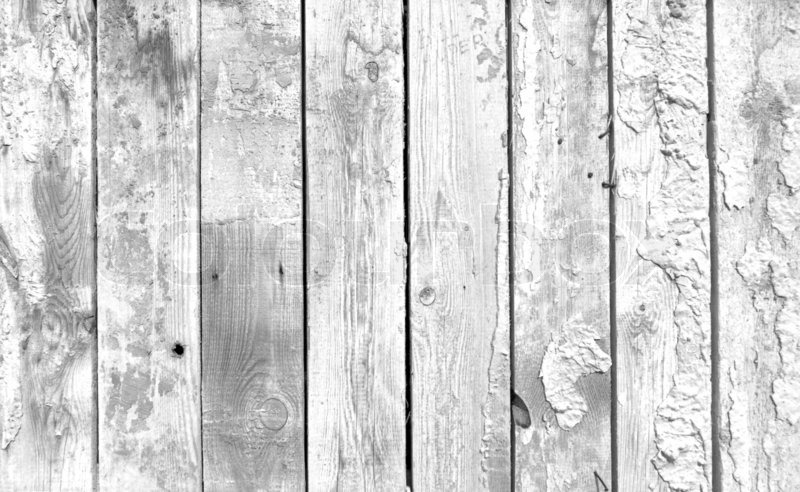 A Black And White Background Of Weathered White Painted