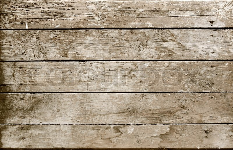 ... background from a weathered wooden plank | Stock Photo | Colourbox