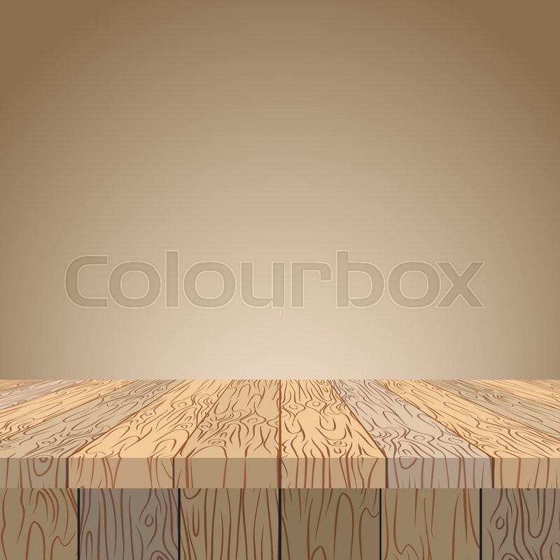 wood table texture. Wooden Table. Surface. Wood Texture. Planks Of In Perspective.\ | Stock Vector Colourbox Table Texture