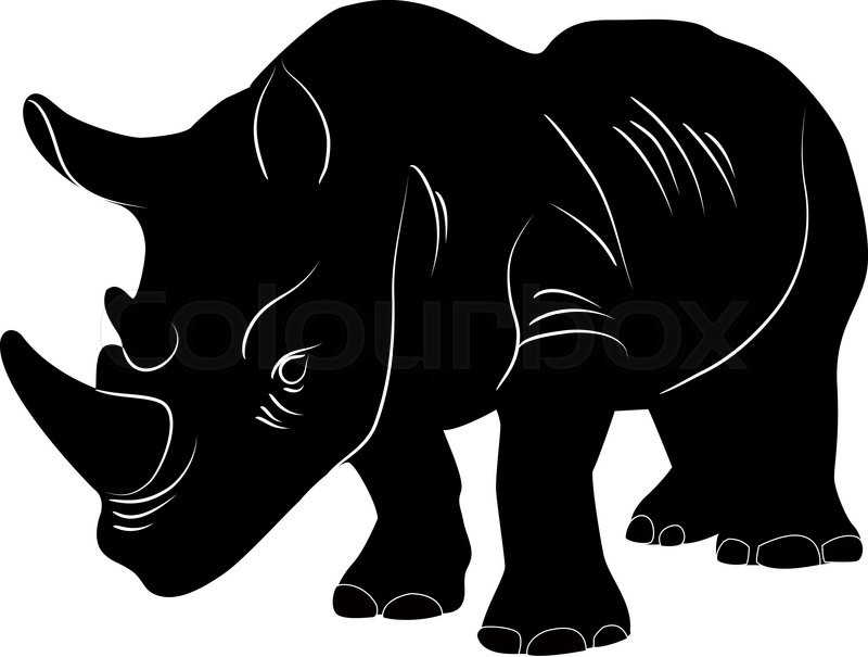 wildlife silhouette clip art