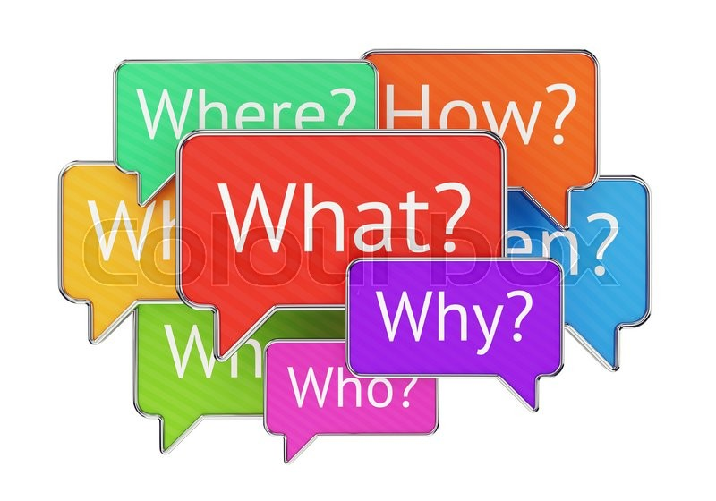 how to answer who what when where why how questions