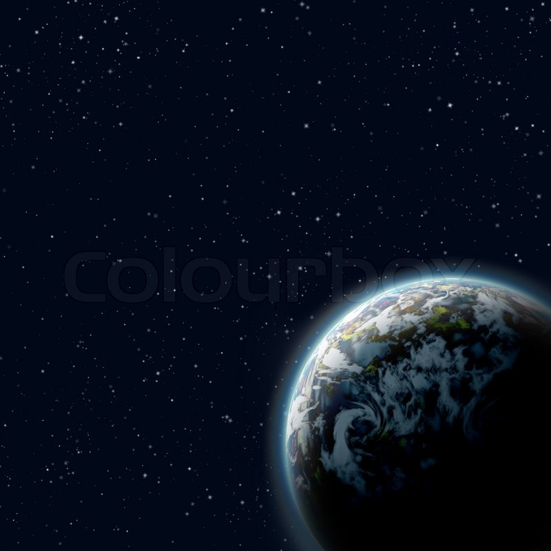 the background of planet earth When a star crosses precisely in front of a bright star in the background, the gravity of the foreground star focuses the light of the background star, making it appear brighter a planet orbiting the foreground object may cause an additional blip in the star's brightness.