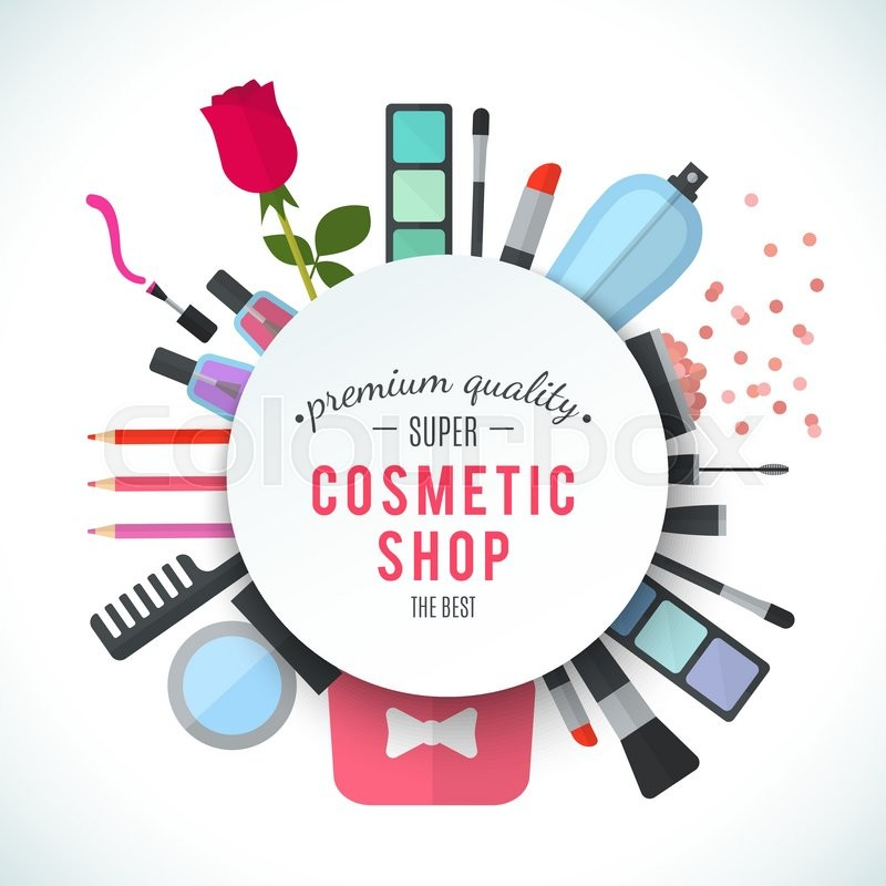professional quality cosmetics shop stylish logo Temporary Tatoos Clip Art Free nail varnish clipart free