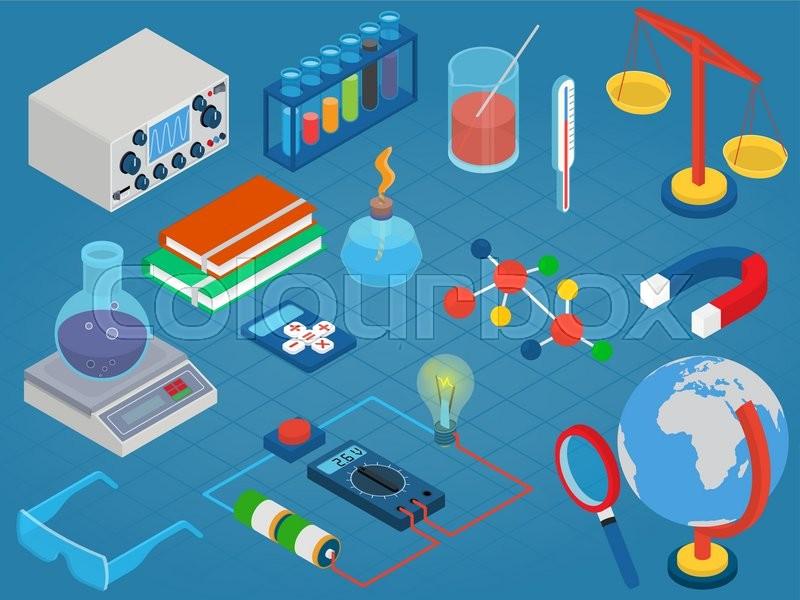 scientific investigation lab report isometric and